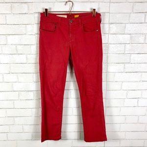 Anthro, Pilcro and Letterpress Straight Leg Jeans